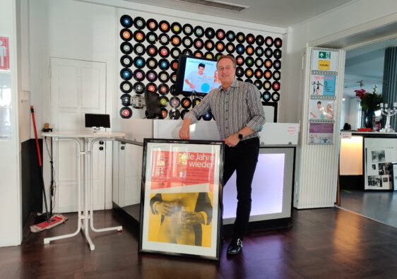 Thomas Püttmann-Lentz an neuer Wirkungsstätte (Foto: THT)