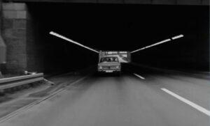 Damals auf der A1. (Foto: Schamoni-Film)