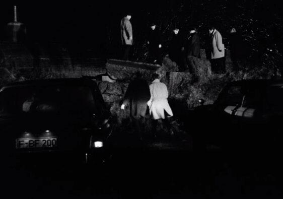 Damals: Männer beim Grölen und Lallen. (Foto: Schamoni-Film)