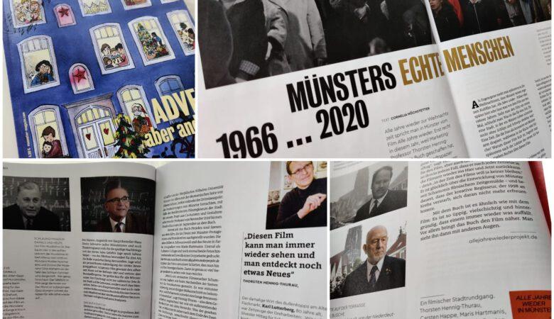 """""""Alle Jahre wieder in Münster"""" im Münster!-Magazin. (Collage: THT)"""